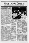 Mustang Daily, November 9, 1988