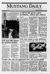 Mustang Daily, November 10, 1988
