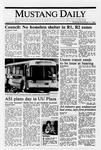 Mustang Daily, November 17, 1988