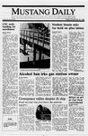 Mustang Daily, November 18, 1988