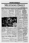 Mustang Daily, November 21, 1988