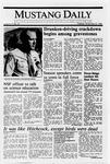 Mustang Daily, November 22, 1988