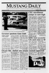 Mustang Daily, January 10, 1989