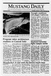 Mustang Daily, January 12, 1989