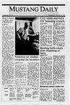 Mustang Daily, January 18, 1989