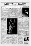 Mustang Daily, January 20, 1989