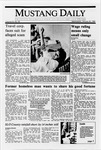 Mustang Daily, January 25, 1989