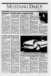 Mustang Daily, January 26, 1989
