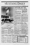 Mustang Daily, January 27, 1989