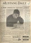 Mustang Daily, January 9, 1986