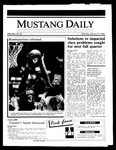 Mustang Daily, January 13, 1986
