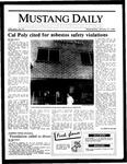 Mustang Daily, January 15, 1986