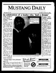 Mustang Daily, January 16, 1986