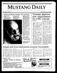 Mustang Daily, January 17, 1986