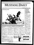 Mustang Daily, January 22, 1986