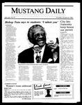 Mustang Daily, January 23, 1986