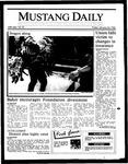 Mustang Daily, January 24, 1986