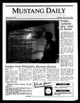 Mustang Daily, January 28, 1986