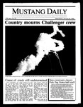 Mustang Daily, January 29, 1986