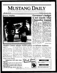 Mustang Daily, January 30, 1986
