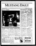 Mustang Daily, January 30, 1986