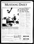 Mustang Daily, January 31, 1986