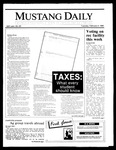 Mustang Daily, February 4, 1986