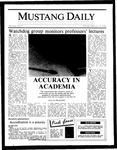 Mustang Daily, February 10, 1986