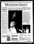 Mustang Daily, February 12, 1986