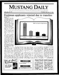 Mustang Daily, February 13, 1986