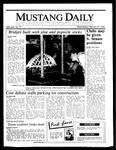 Mustang Daily, February 19, 1986