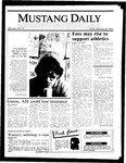 Mustang Daily, February 28, 1986