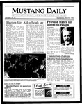 Mustang Daily, March 5, 1986
