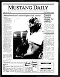 Mustang Daily, March 7, 1986