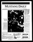 Mustang Daily, March 10, 1986