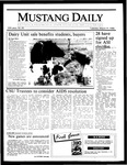 Mustang Daily, March 11, 1986