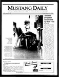 Mustang Daily, March 14, 1986