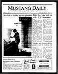Mustang Daily, April 9, 1986