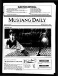 Mustang Daily, April 14, 1986