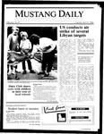 Mustang Daily, April 15, 1986