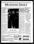 Mustang Daily, April 17, 1986