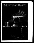 Mustang Daily, April 25-26, 1986