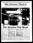 Mustang Daily, April 28, 1986