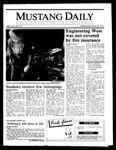 Mustang Daily, April 30, 1986