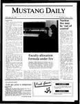 Mustang Daily, May 1, 1986