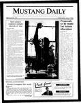 Mustang Daily, May 7, 1986