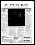 Mustang Daily, May 9, 1986