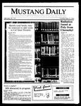 Mustang Daily, May 15, 1986