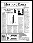 Mustang Daily, May 29, 1986