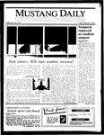 Mustang Daily, May 30, 1986